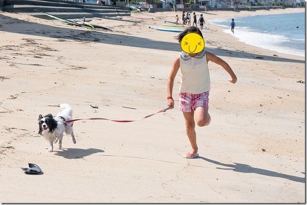 今宿、長垂海浜公園の砂浜