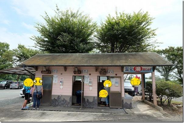 熊本山鹿にある「どんぐり村」の犬用温泉施設