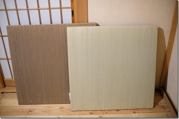 ニトリのユニット琉球畳(半畳)を敷く