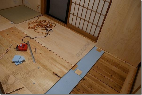 琉球畳の入れ替えで強度対策