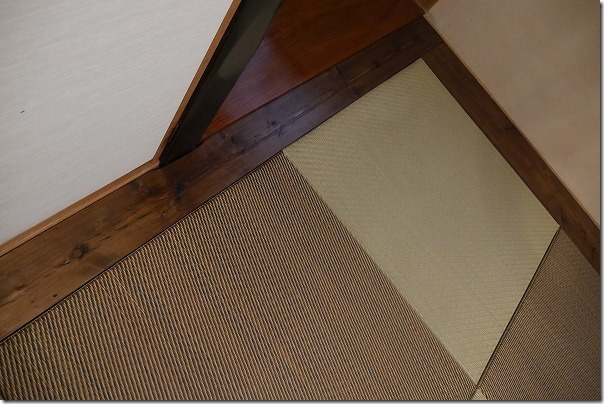DIYで琉球畳への入れ替え