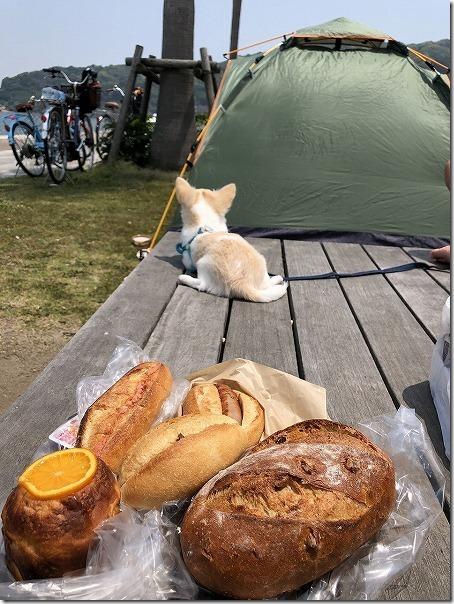 長垂海浜公園でピクニック