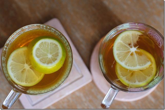 マイヤーレモンでレモンティー