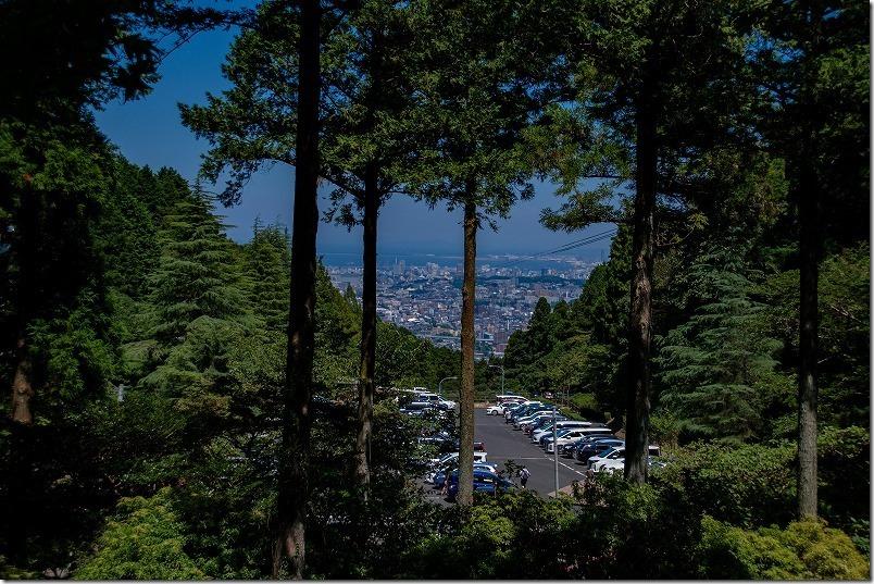 油山市民の森(福岡市南区)、駐車場