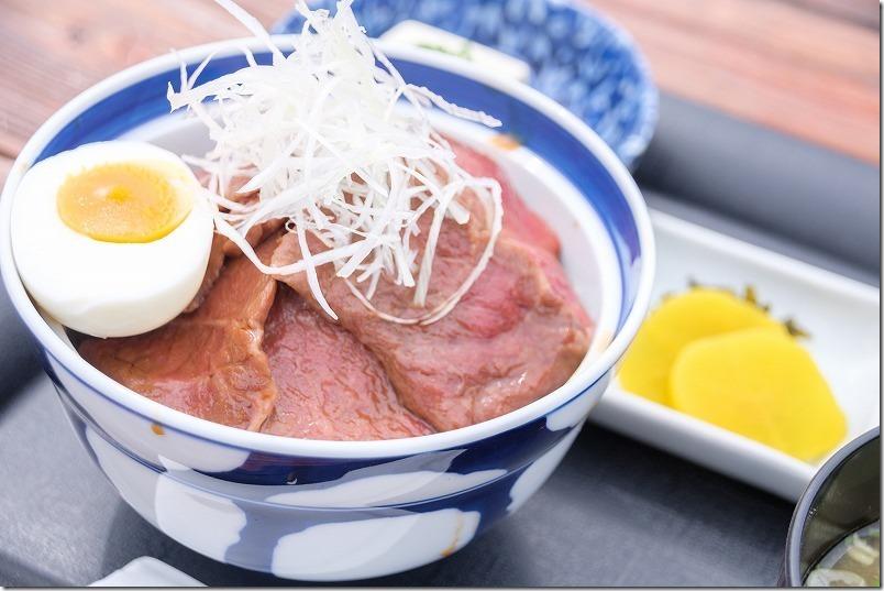 レストラン北山のあか牛丼、阿蘇