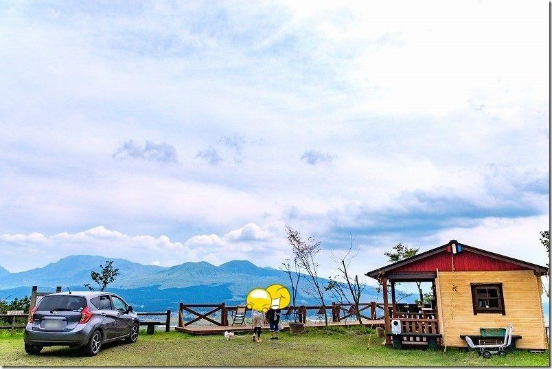 そらの船桟橋のカフェ、田子山展望台