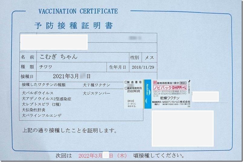 犬用7種混合ワクチン(ノビバックDHPPi+L)の効能