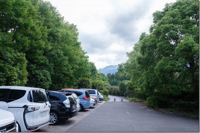 脇山中央公園の駐車場、福岡市早良区