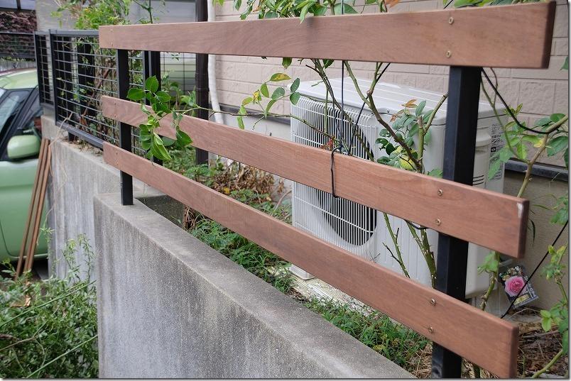 ハードウッド・イペで柵・フェンス