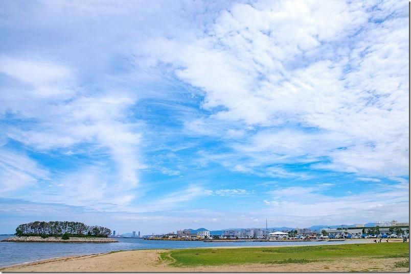 福浜海岸(福岡市中央区)